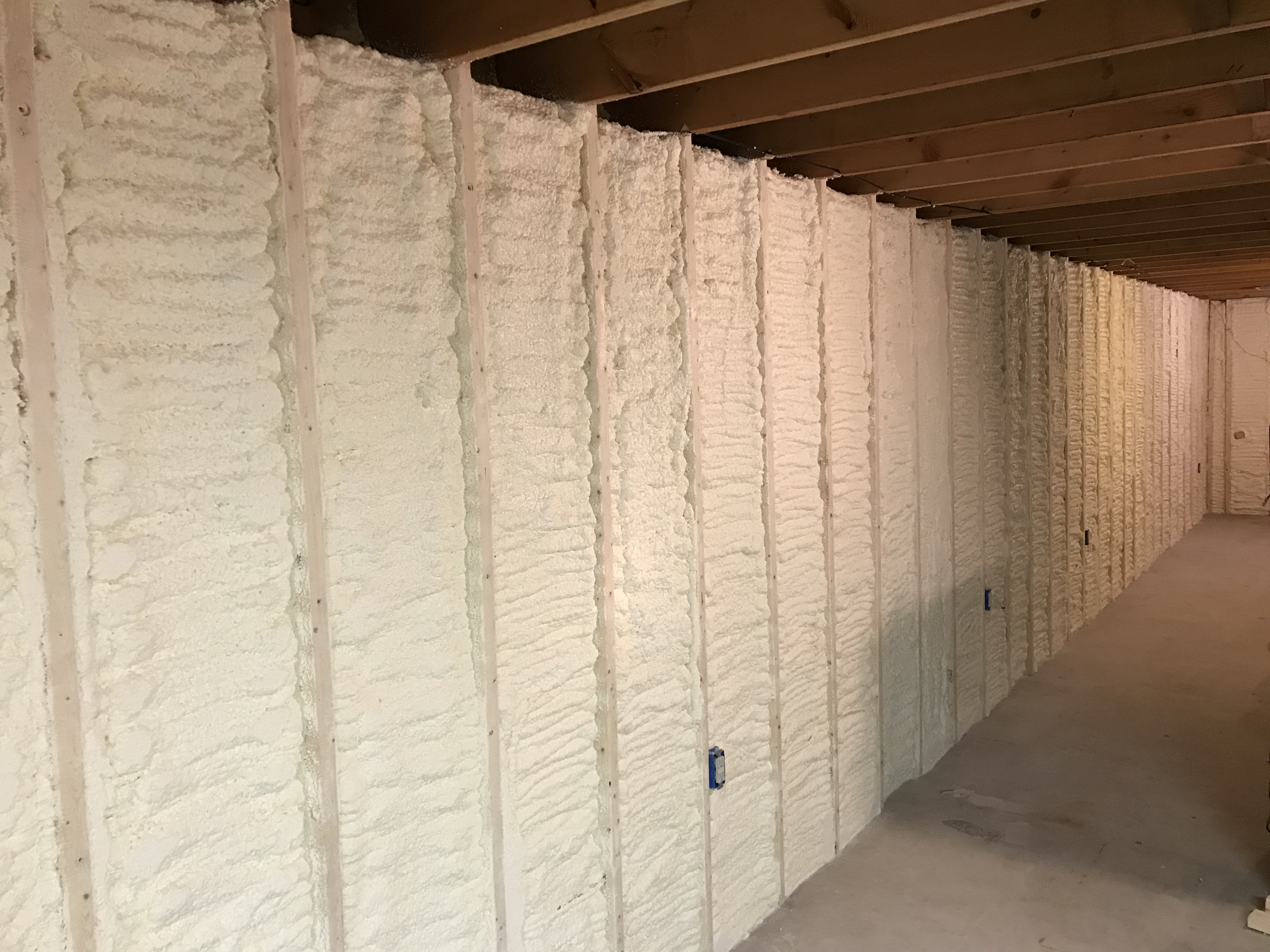 Spray Foam Insulation For Basement Walls Best Methods For