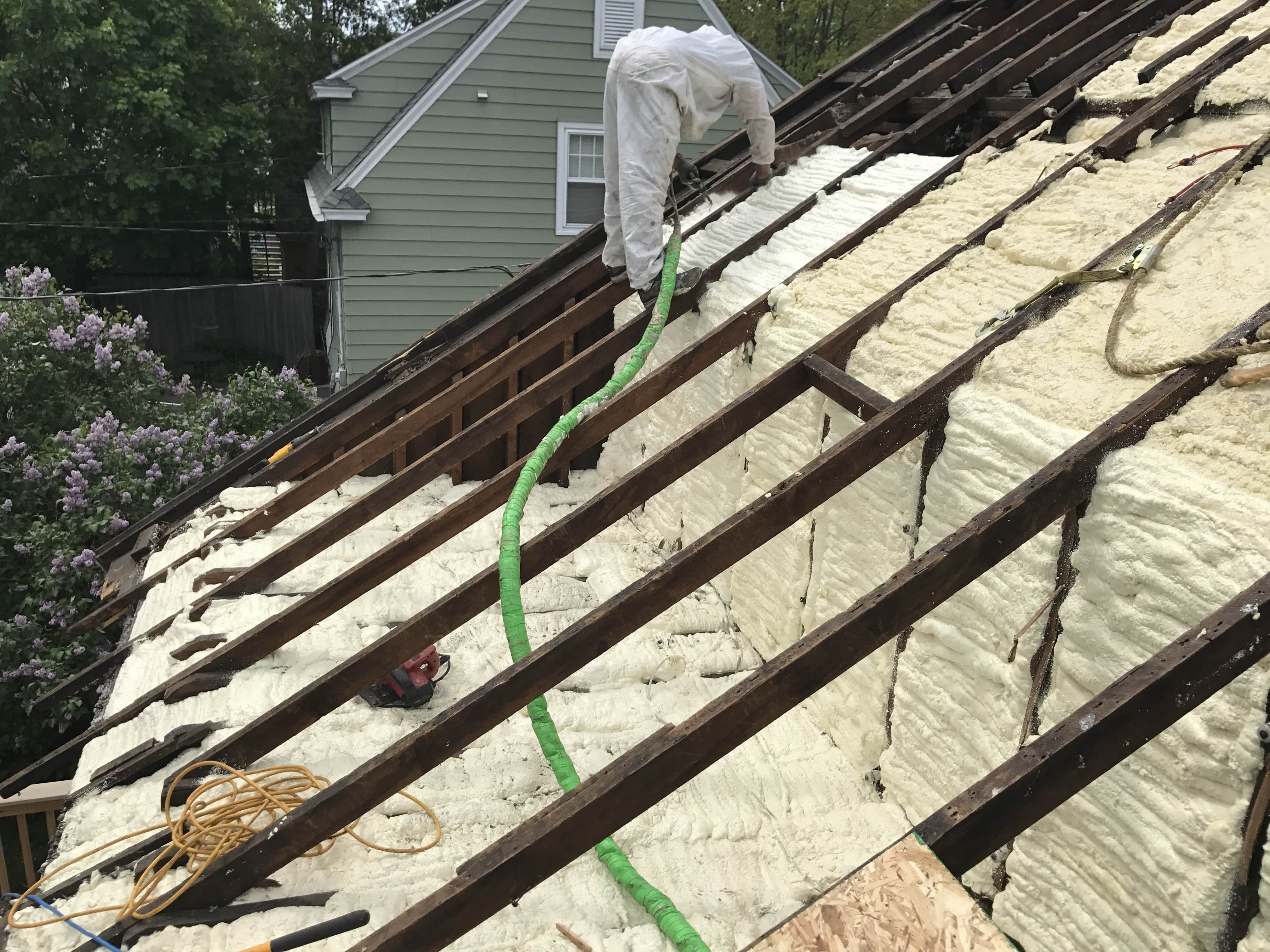 Spray Foam Insulation Contractor Oakwood Exteriors