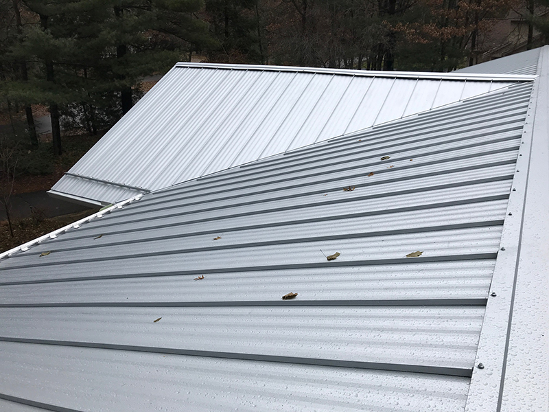 Standing Seam Metal Roofing In Stevens Point Wi Roof Replacement