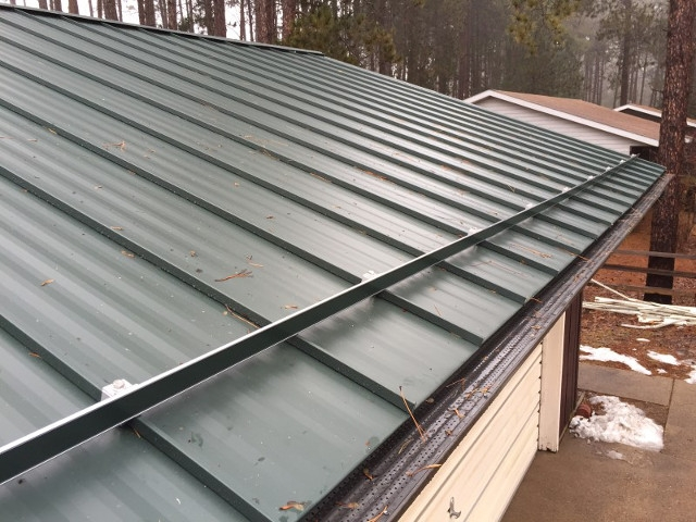 Standing Seam Metal Roofing Plover