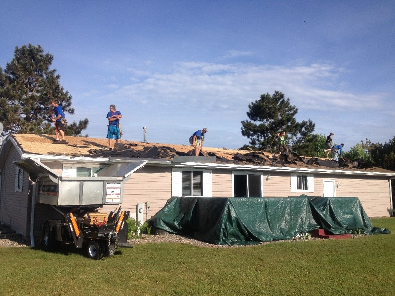 New Roof No Mess Stevens Point Roofing Contractor
