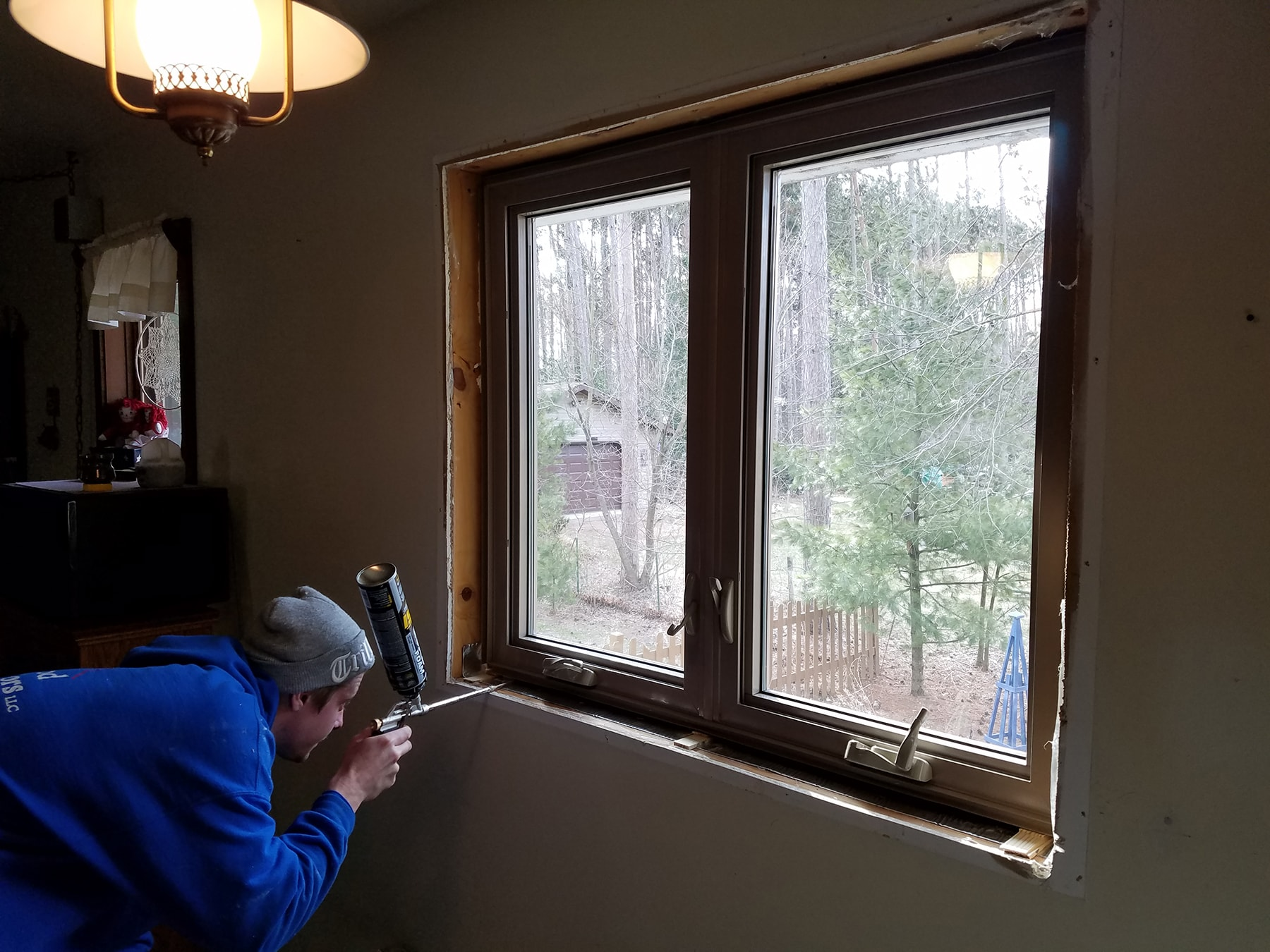 Thermo Tech Full Frame Replacement Windows In Plover Wi Oakwood Exteriors