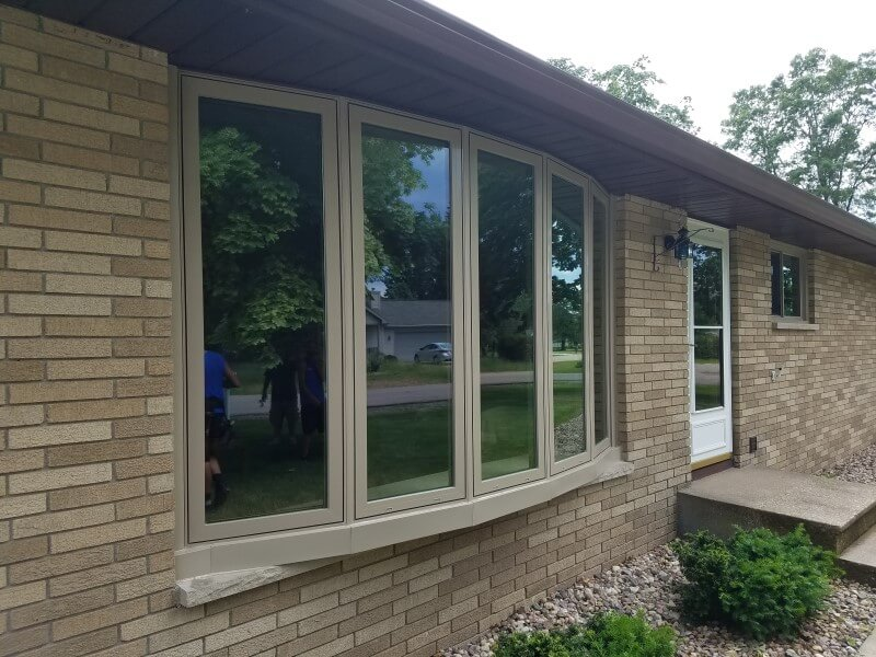 Thermo Tech Full Frame Replacement Windows In Stevens Point Wi Oakwood Exteriors