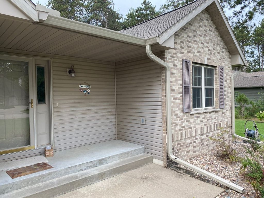 Hight Capicity 6 Inch Fascia Style Gutter Example 2