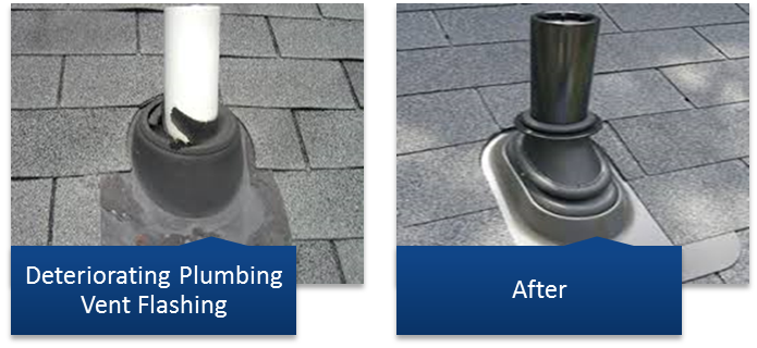 How To Install Vent Pipe Flashing On Existing Roof