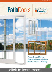 thermo-tech patio doors, patio doors, patio