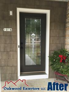 entry door after, front entry door