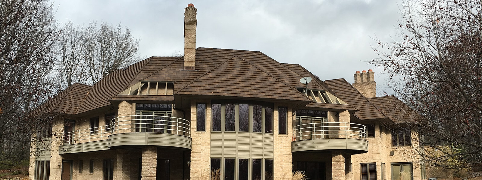 Stone Coated Steel Roofing Shingles Decra Metal Roofing